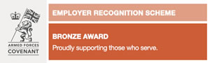 Armed Forces Employer Bonze Award